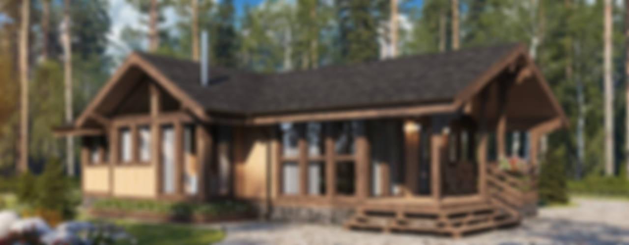 Норвежский Дом: Загородные дома в . Автор – Naturi