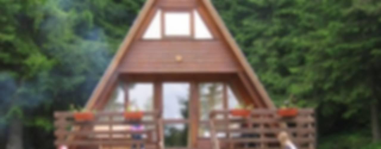 SİSNELİ AHŞAP EV - AĞAÇ EV - KÜTÜK EV - BUNGALOV -KAMELYA Casas de madera