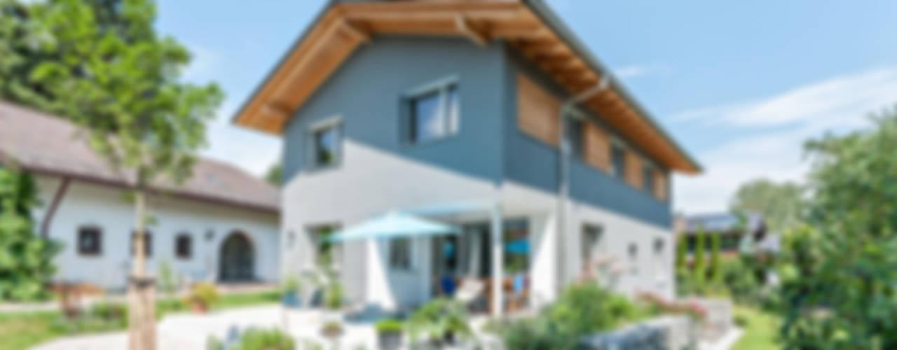 Projekty,  Dom pasywny zaprojektowane przez Architekturbüro Schaub