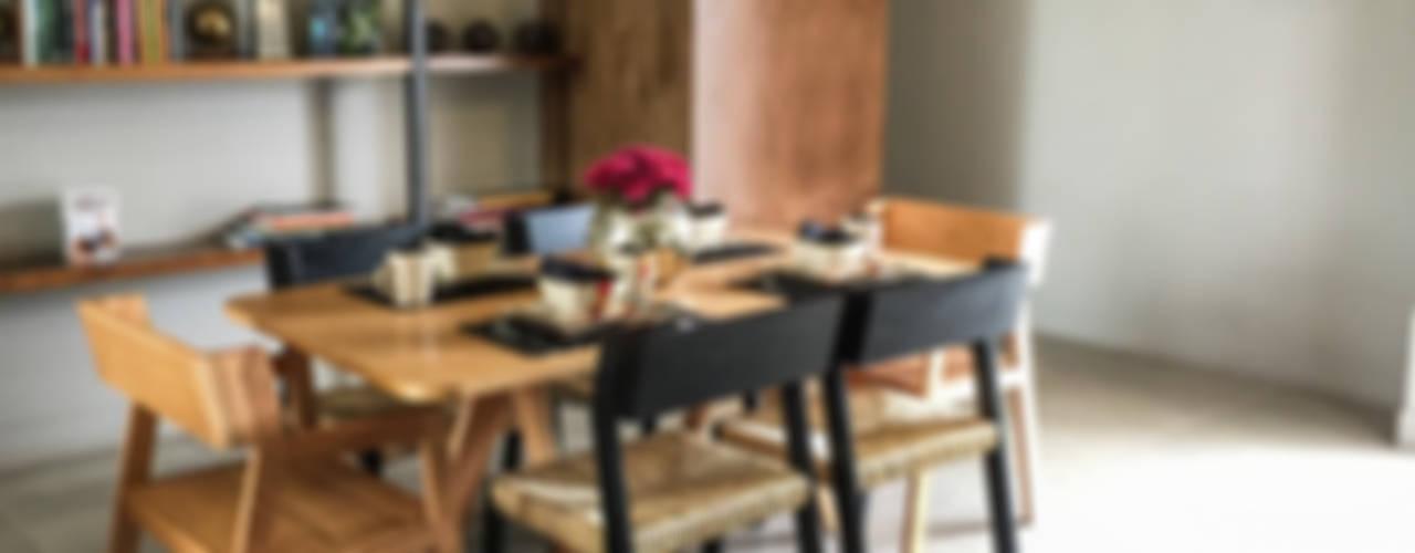 Jardín Secreto: Comedores de estilo moderno por Alameda Estudio