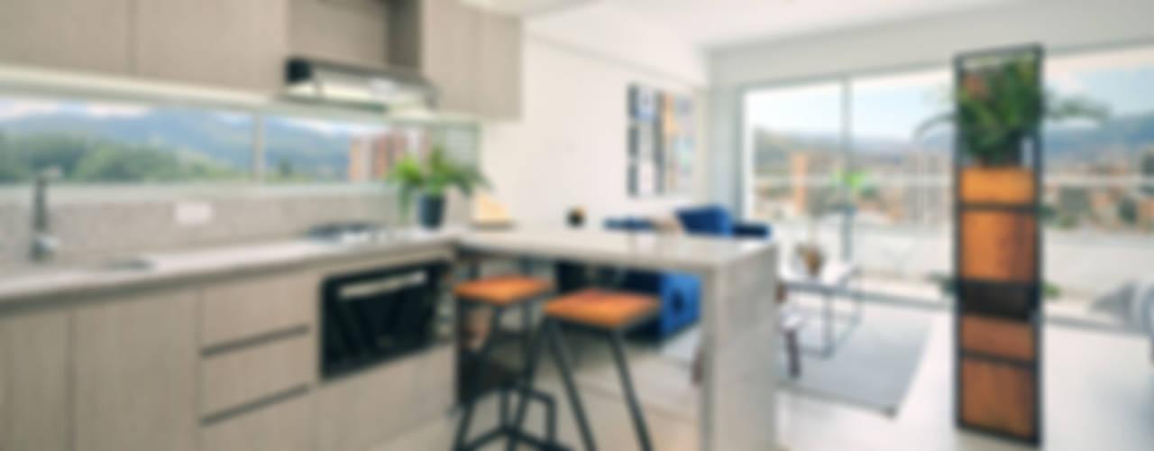 Cocina: Cocinas integrales de estilo  por Maria Mentira Studio