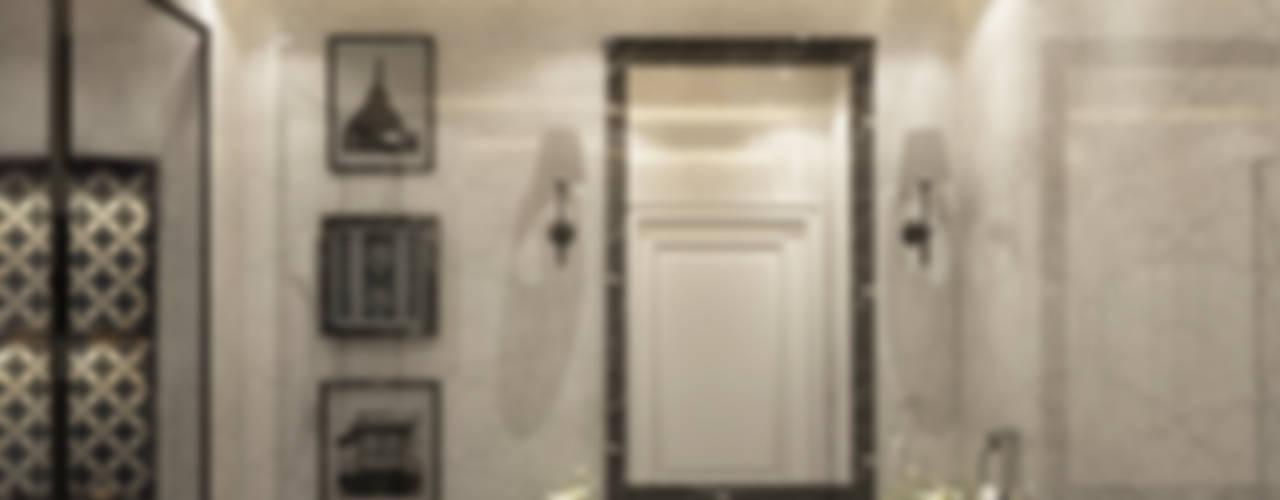 Spaces Levels Studio Eclectic style bathroom