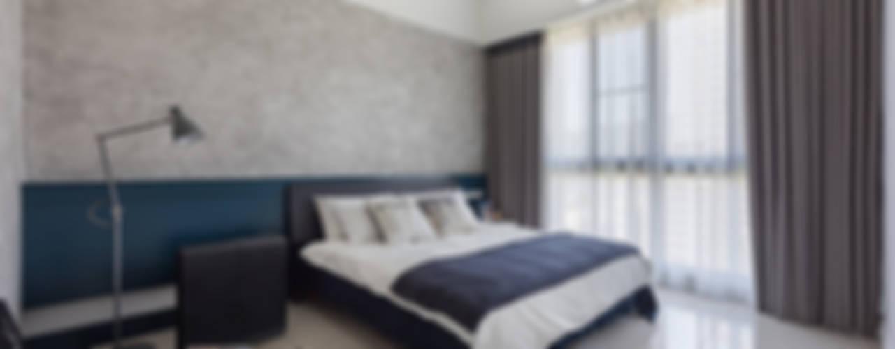 午後時光~純淨北歐:  臥室 by 倍果設計有限公司, 北歐風
