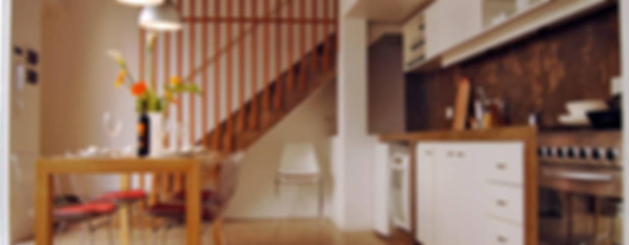 Home Loft: Comedores de estilo  por Paula Mariasch - Juana Grichener - Iris Grosserohde Arquitectura