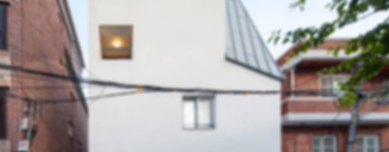 사근동 기운집 氣運集 모던스타일 주택 by 수상건축 모던