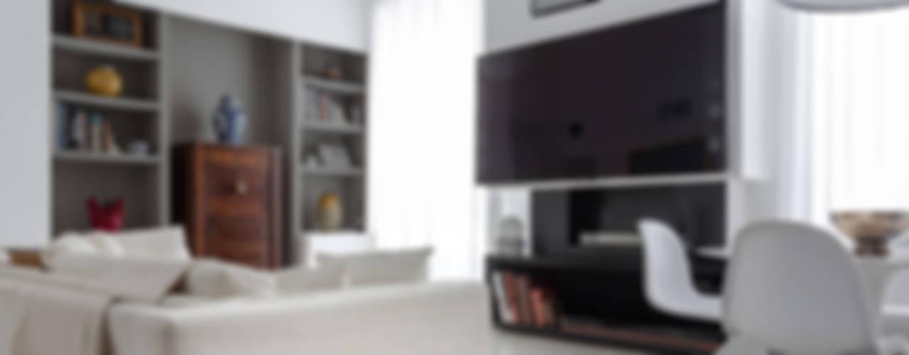 Projekty,  Salon zaprojektowane przez Viú Architettura