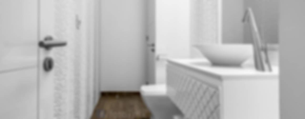 Baños de estilo  de FOTOIMX: Fotógrafo de Inmuebles en CDMX,