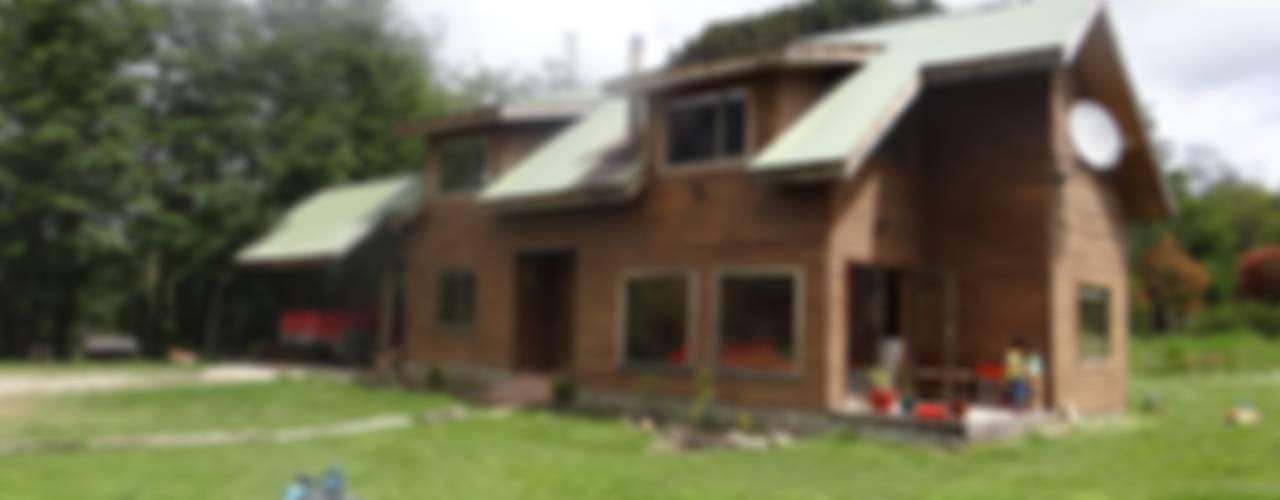 Diseño y Construcción de Casa en sector Río Claro, Coyhaique de casa rural - Arquitectos en Coyhaique Rural