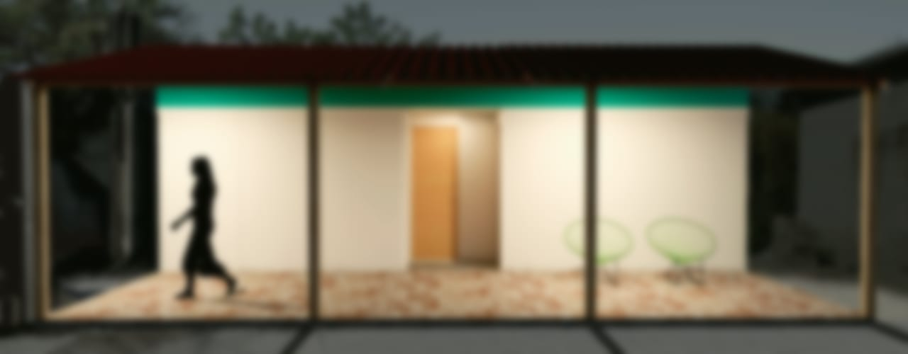 Vivienda Emergente para el Istmo de Oaxaca, México: Casas de campo de estilo  por Variable