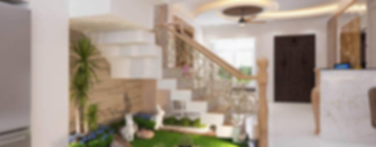 Escaleras de estilo  por Công ty TNHH Xây Dựng TM – DV Song Phát