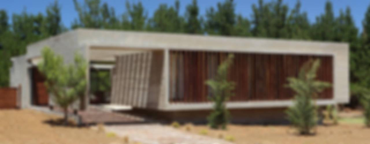 Fachadas de casas modernas de una planta y dos plantas for Fachadas casas modernas de una planta