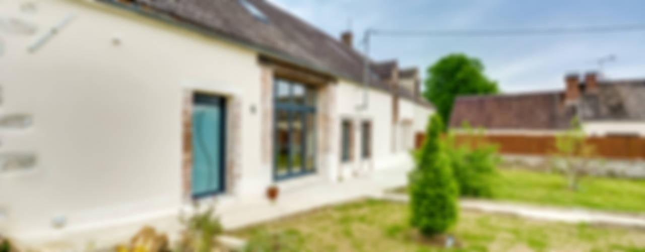 Longère Maisons scandinaves par blackStones Scandinave