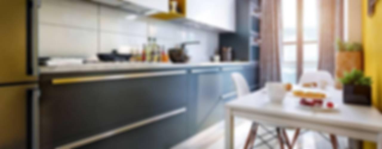 VERO CONCEPT MİMARLIK – Avcılar Cadde Bostan Bornova Konutları: modern tarz Mutfak