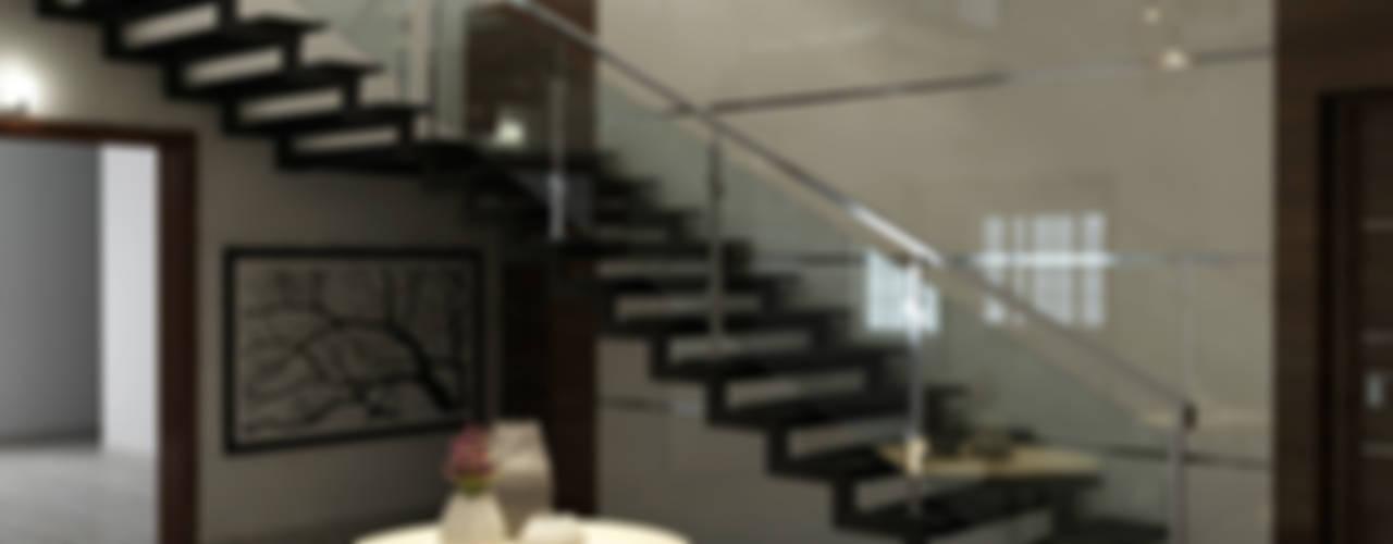 Shobha's Residence,Panaiyur:  Stairs by M/s Studio7 Architects
