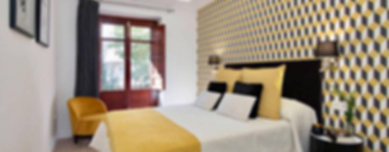 Ausgefallene Schlafzimmer von ESPACIOS, ALBERTO ARANDA Ausgefallen
