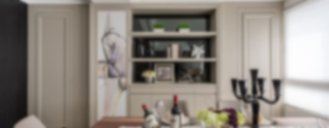 E&C創意設計有限公司 Minimalist dining room
