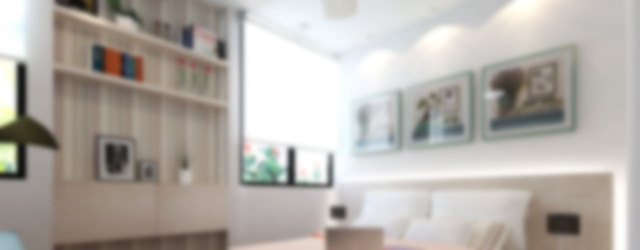 RECAMARA: Recámaras de estilo ecléctico por EMERGENTE | Arquitectura