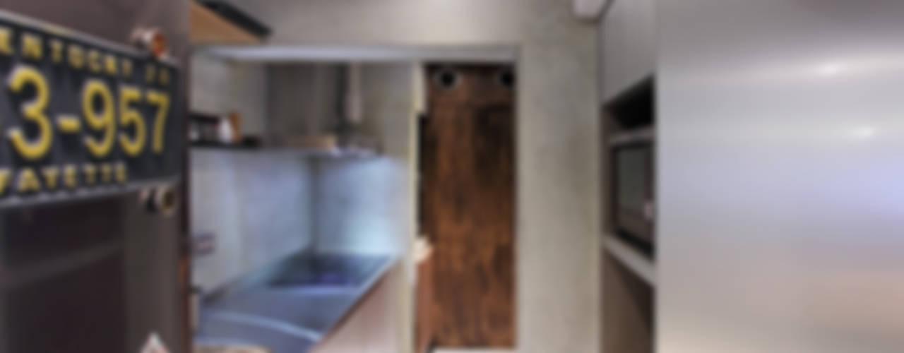 Cocinas equipadas de estilo  por 森畊空間設計, Moderno