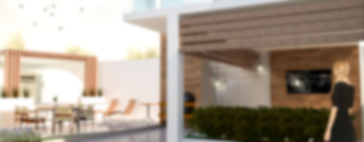 Altica 2: Casas de estilo  por Arch DB - Arquitectos