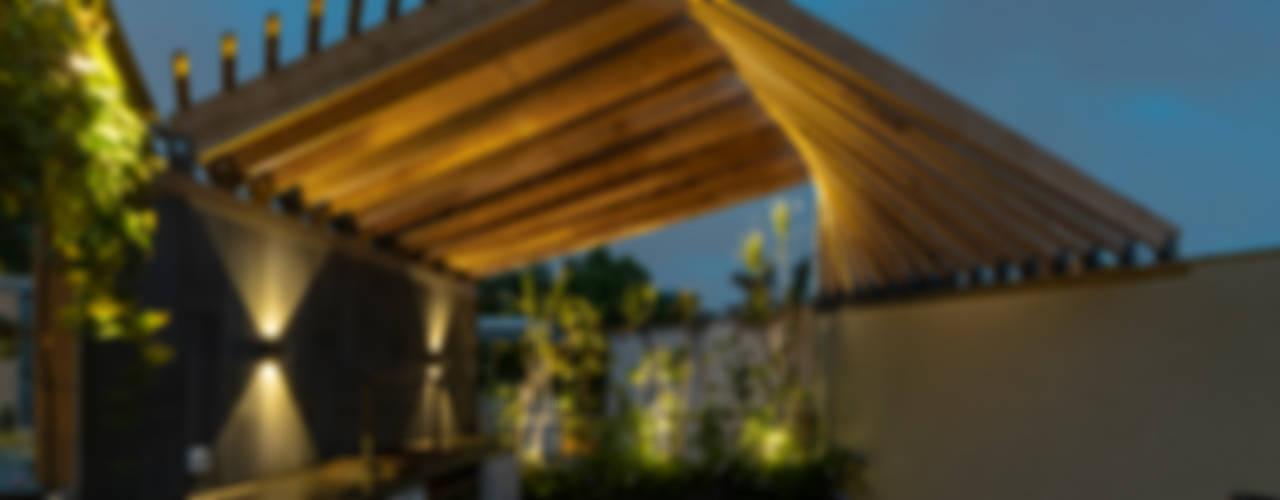 DEPA DEL MÚSICO: Terrazas de estilo  por HDA: ARQUITECTURA BIOCLIMATICA