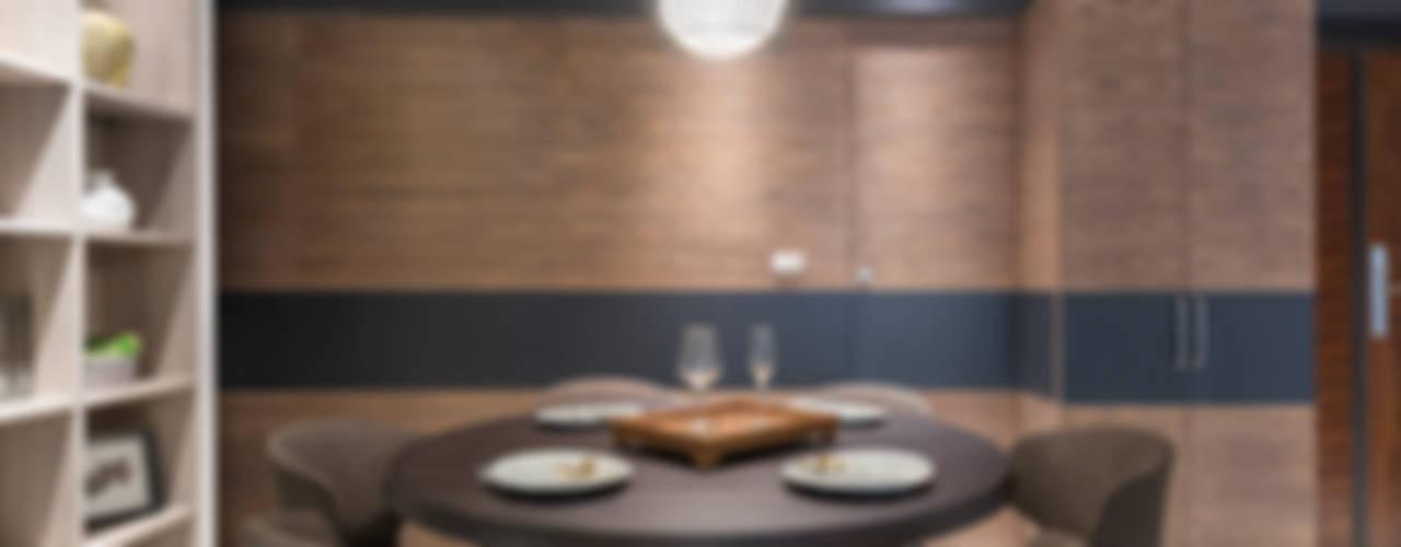 Comedores modernos de 寬宸室內設計有限公司 Moderno