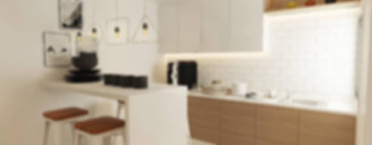 Aurora Verde Design Lab Modern style kitchen