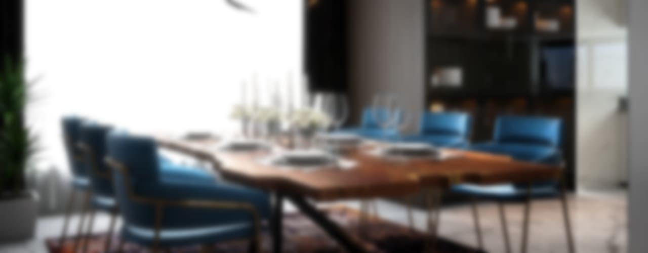 Penthouse Norm designhaus Modern dining room
