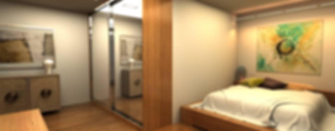 Next Container – Next Container - Jumbo Mix Villa 2 :  tarz Yatak Odası