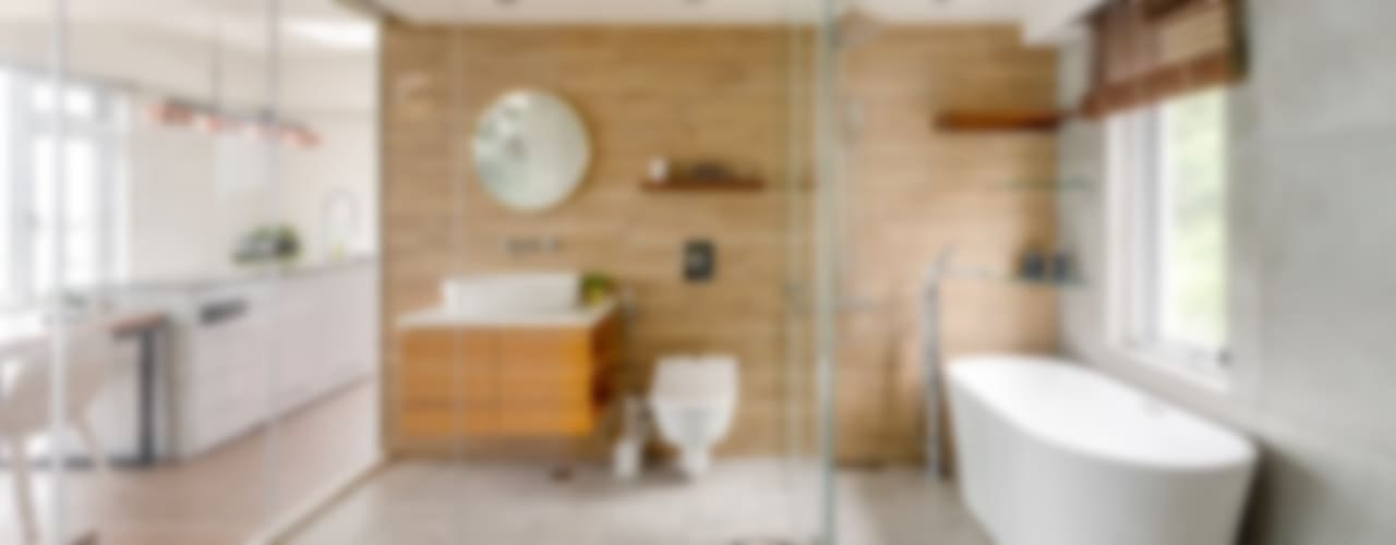 Salle de bain minimaliste par 御見設計企業有限公司 Minimaliste