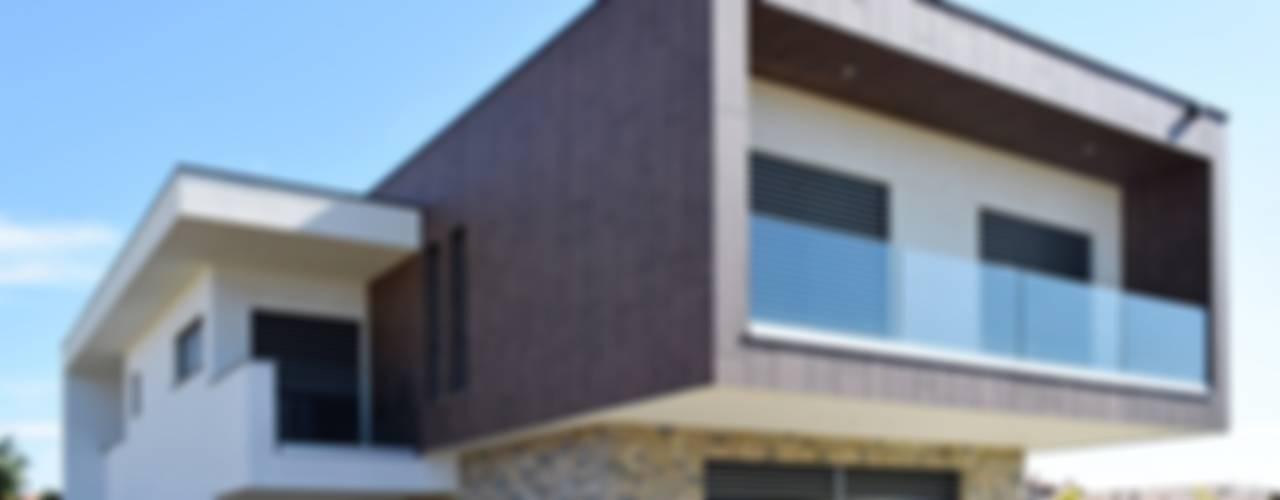 Villa moderna in legno - Romano di Lombardia Marlegno Villa Legno