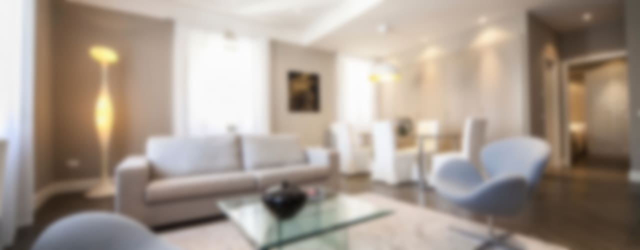Casa MT Soggiorno moderno di GIAN MARCO CANNAVICCI ARCHITETTO Moderno