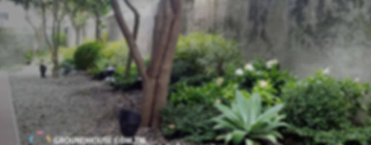 Jardines de estilo clásico de 大地工房景觀公司 Clásico