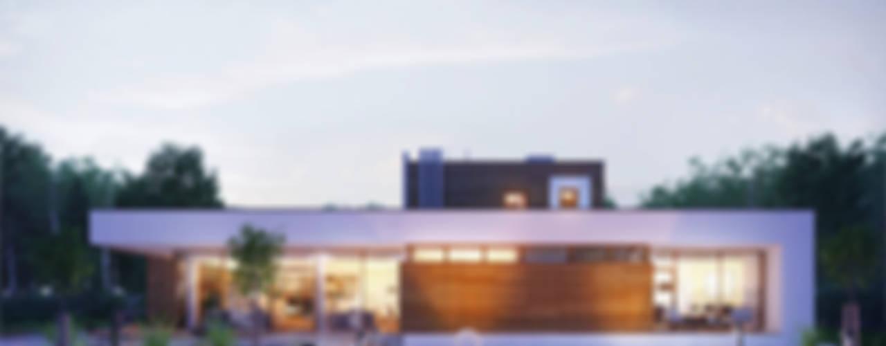 Costruzione casa moderna prefabbricata di 200 mq in monza e brianza - Casa prefabbricata moderna ...