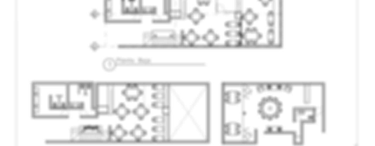 Takenoya: Casas de estilo  por Estudio Raya