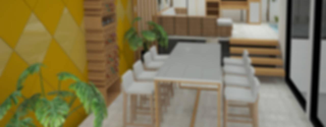Sala : Salas de estilo moderno por UOTAN Studio