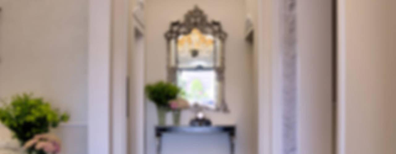 Lampadari Murano classici per hotel lusso a Firenze MULTIFORME® lighting Ingresso, Corridoio & ScaleIlluminazione Vetro Trasparente