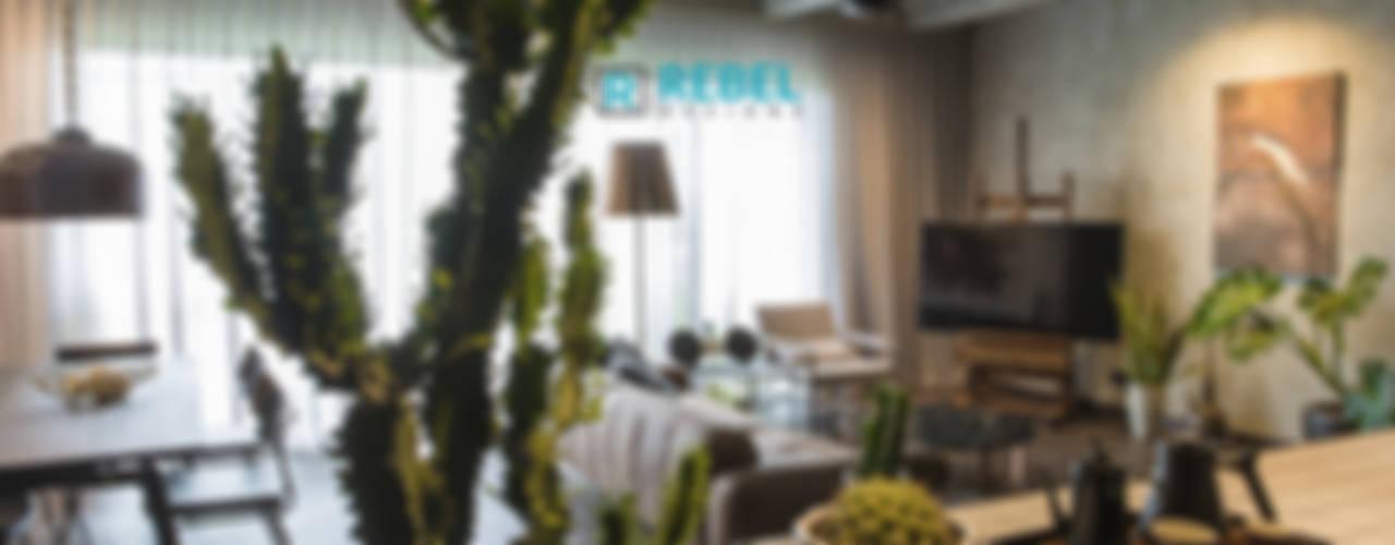Modern Living Room by Rebel Designs Modern