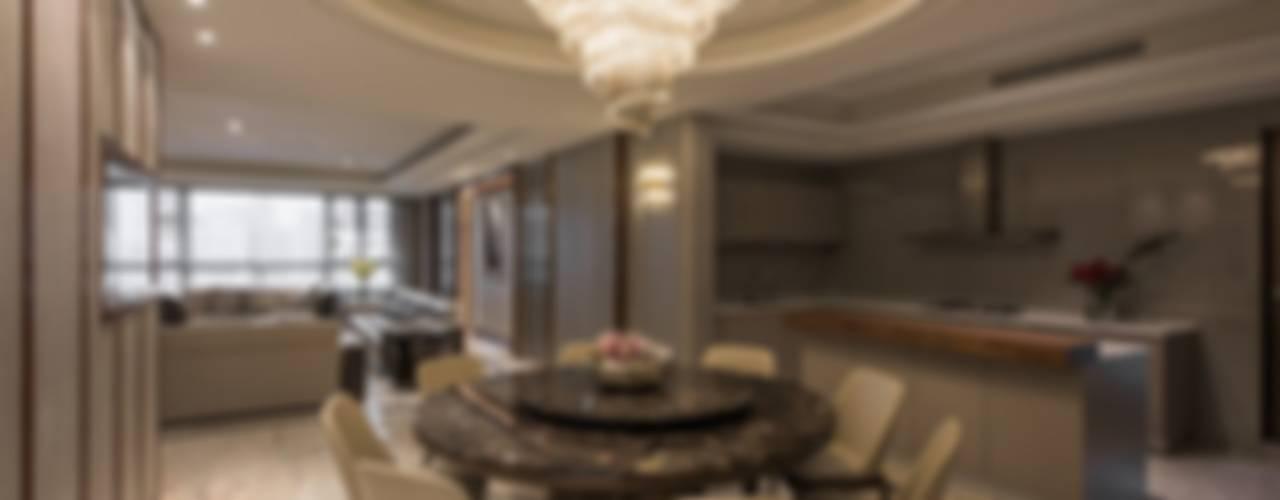 擁抱的姿態:  餐廳 by 雅群空間設計