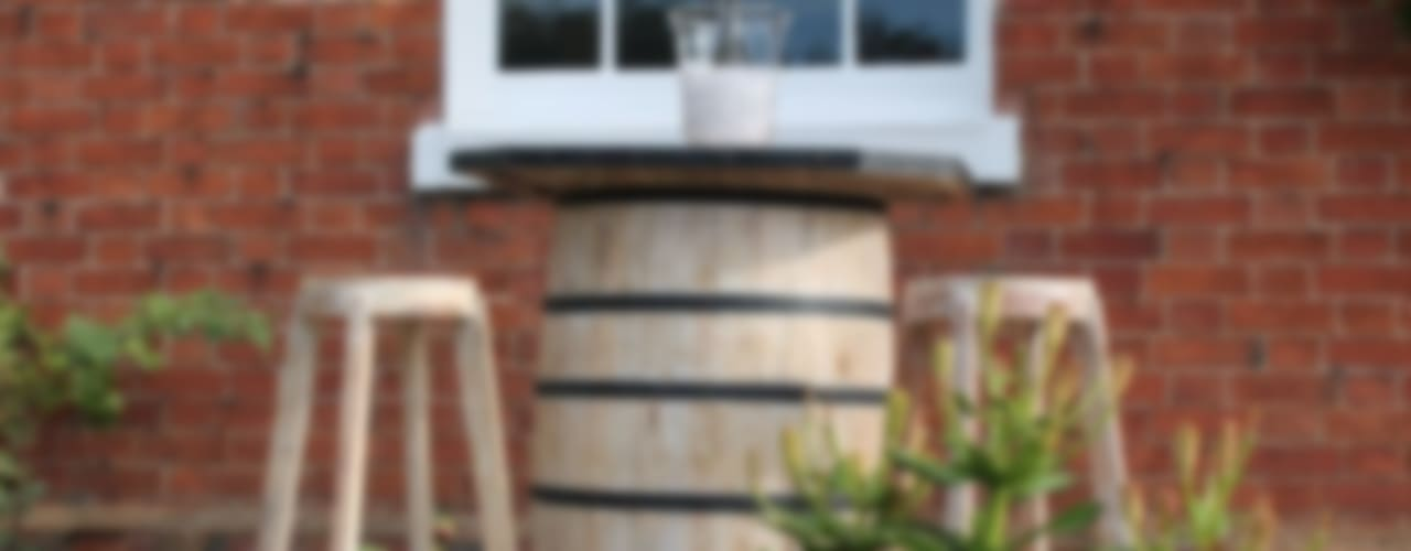 Up-cycled Barrel Bars:  Garden by Garden Furniture Centre,