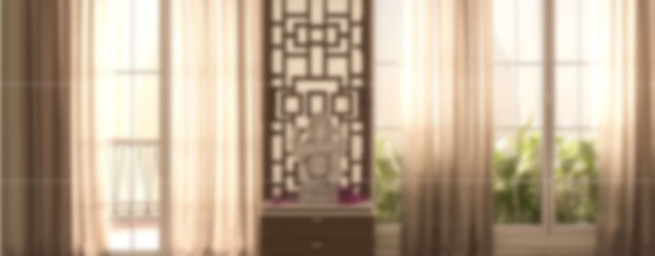 3BHK Interiors Classic style walls & floors by Fabmodula Classic