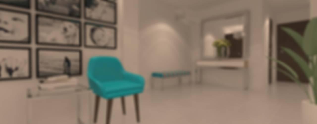 SALA - COMEDOR * FAM VARGAS Salas modernas de Giovanna Solano - DLuxy Muebles Design Moderno