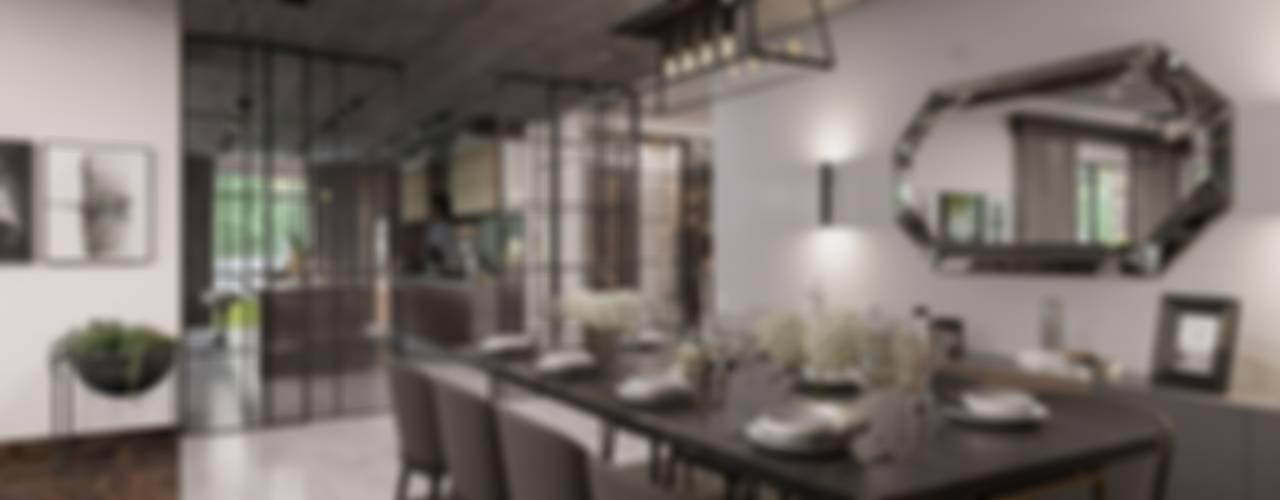 Balıkesir Villa Modern Yemek Odası ANTE MİMARLIK Modern