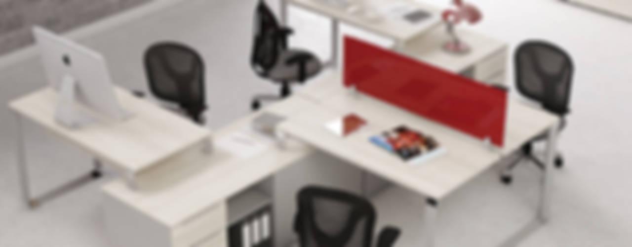 Mobiliario Vivant: Estudios y oficinas de estilo  por GREAT+MINI
