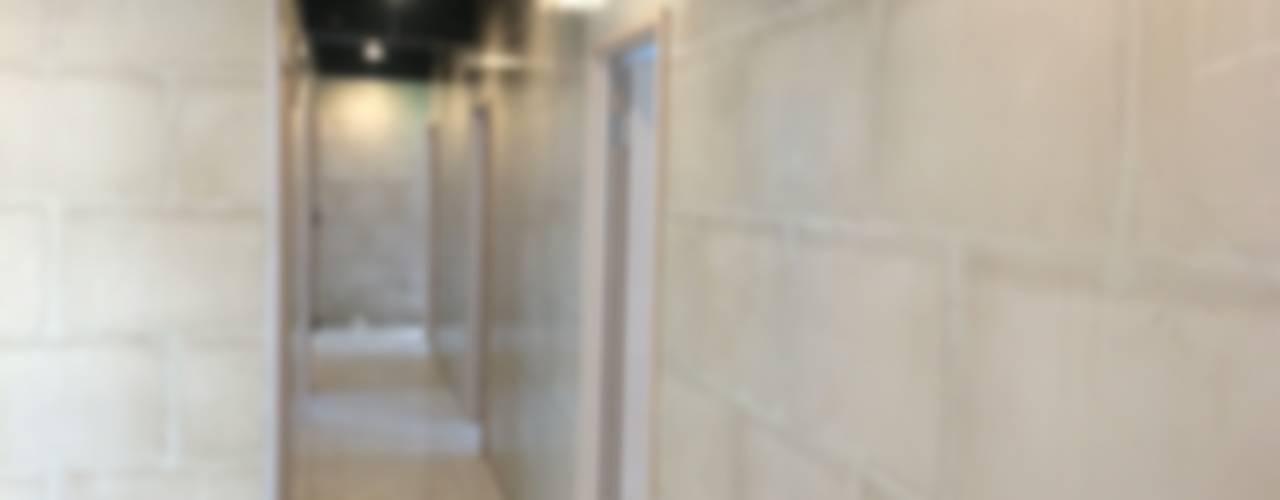 湖口工業園區員工宿舍 - 綠能防潮石膏磚施工案例:   by 寶瓏室內裝修有限公司