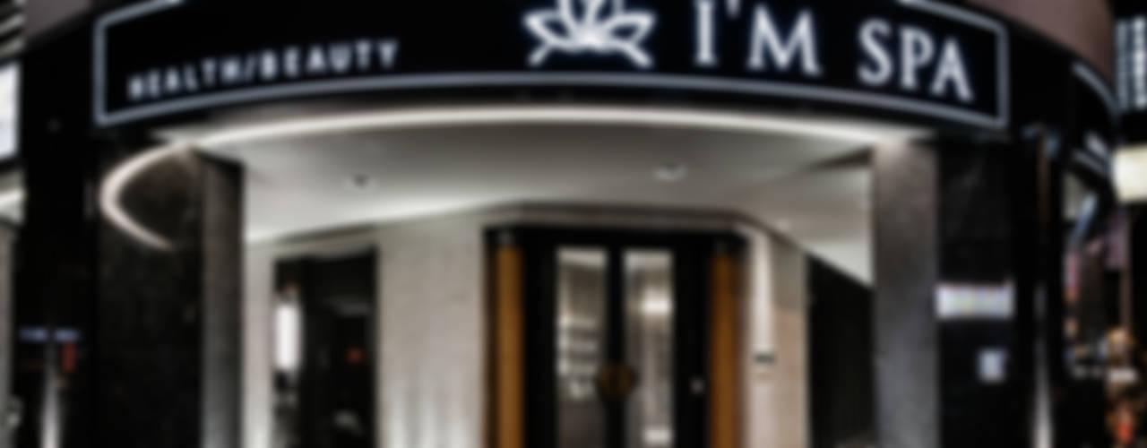 東方綺麗風華   I'M SPA 會館   建築室內共同制作:  玻璃門 by 竹村空間 Zhucun Design
