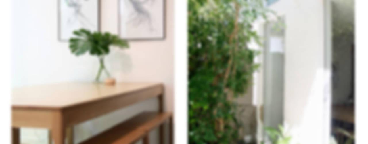 Hyde Park Apartment, JHB by Metaphor Design Minimalist