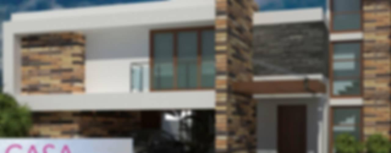 RESIDENCIA TLALIXTAC II: Casas de estilo  por Dic Arquitectos