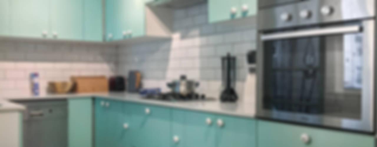 Estudio Arquitectura y construccion PR/ Remodelaciones y Diseño de interiores / Santiago, Rancagua y Viña del mar Cocinas pequeñas Verde
