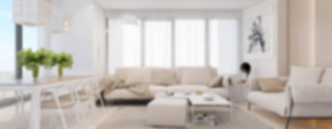 Beta İç Mimarlık – SV Evi:  tarz Oturma Odası, Modern