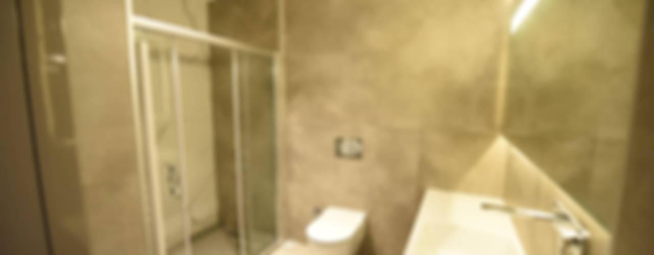 Çarşı Daire Yenileme Projesi Modern Banyo Orby İnşaat Mimarlık Modern